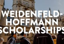 Photo of Weidenfeld and Hoffmann Scholarship at Oxford University in UK 2022